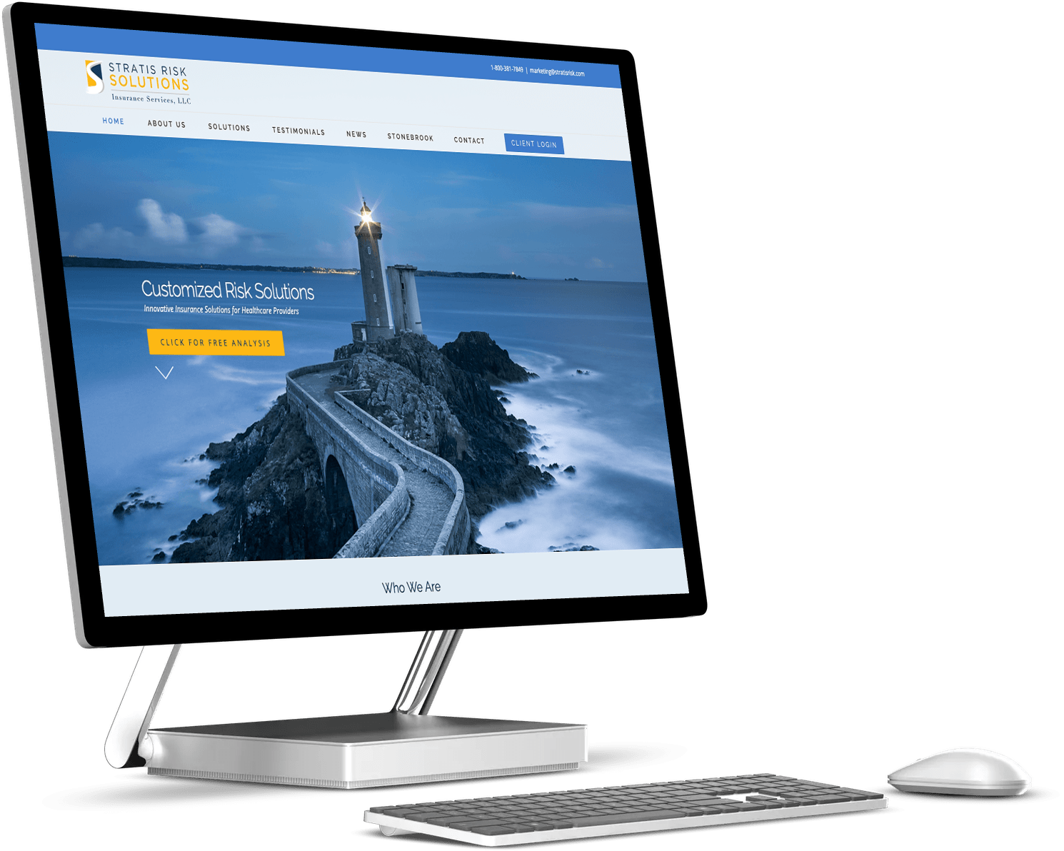 The Hawaii Angency Web Design Insurance Company Case Studies